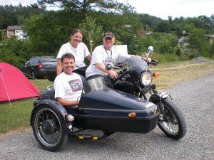 Orga-Team des Honda Clubman und XBR Treffens