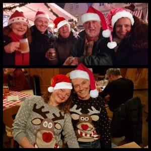 Die Clubman-Freunde auf dem Weihnachtsmarkt
